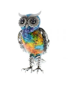HAND PAINTED OWL
