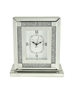 Milano Mirror Table Clock