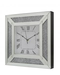 Value Fabiana Sparkle Mirror Wall Clock