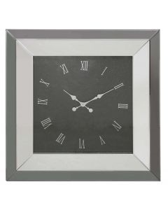 Value Smoked Fabiana Wall Clock