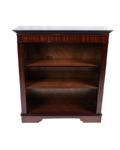 2 Shelf Geogian Bookcase