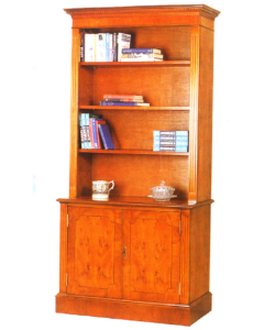 2 Door Open Bookcases
