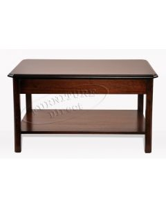 Coffee Table with Underneath Shelf