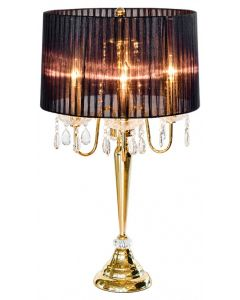 Beaumont Four Light Gold Table Lamp