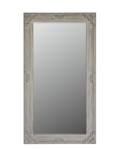 Flower Floor Standing Mirror Beige