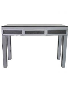 Smoked Milano Mirror Console Table