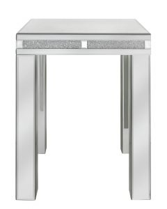 Milano Mirror End Table