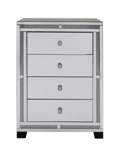 Milano Mirror 4 Drawer Cabinet