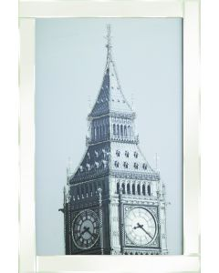 Bigben on White Frame