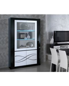 polaris Luxury 2 Door Glass Cabinet