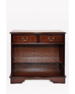Two Drawers Sideboard with Open Front Cabinet